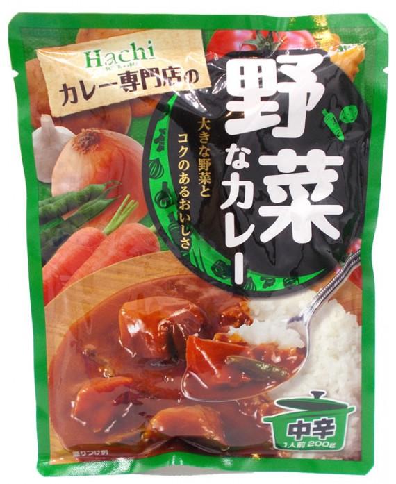 ハチ食品 野菜なカレー 中辛 - 200g