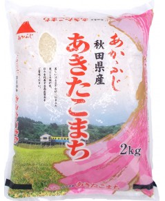 Riz rond japonais gluant Akita Komachi