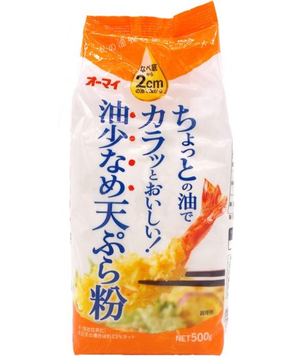 オーマイ 油少なめ天ぷら粉 - 500g