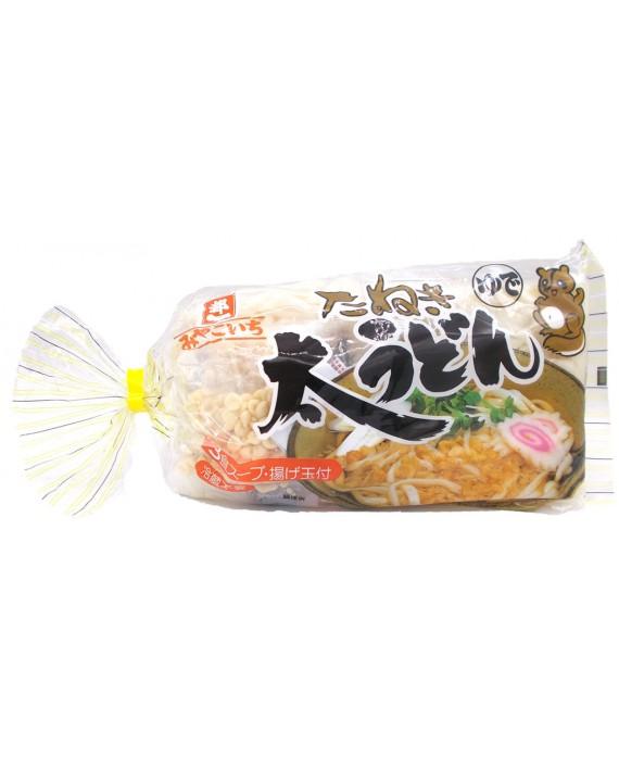 都一 たぬき太うどん (スープ付) 3食入
