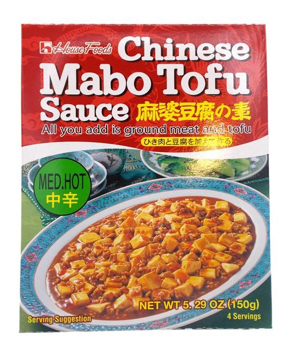 ハウス マーボー豆腐の素 中辛 - 150g