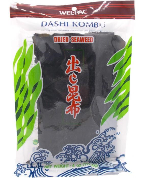 Algues de kombu séchées