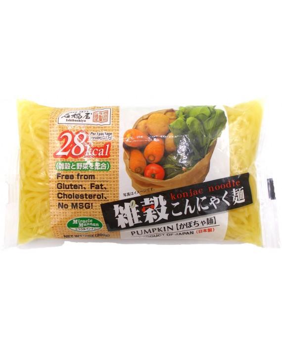 石橋屋 雑穀こんにゃく麺 (かぼちゃ麺) - 200g