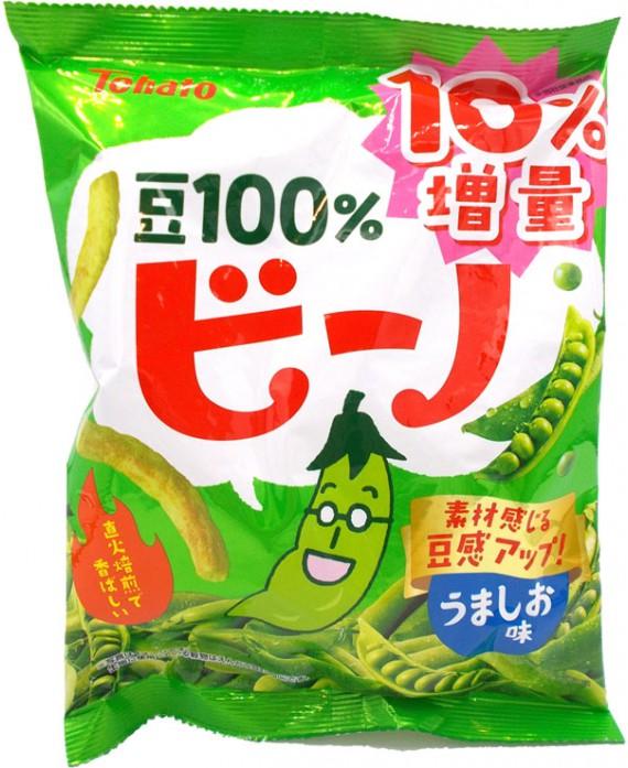 Salty peas snack