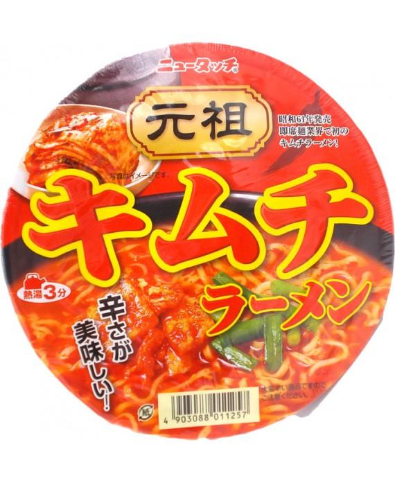 Instant spicy kimchi ramen