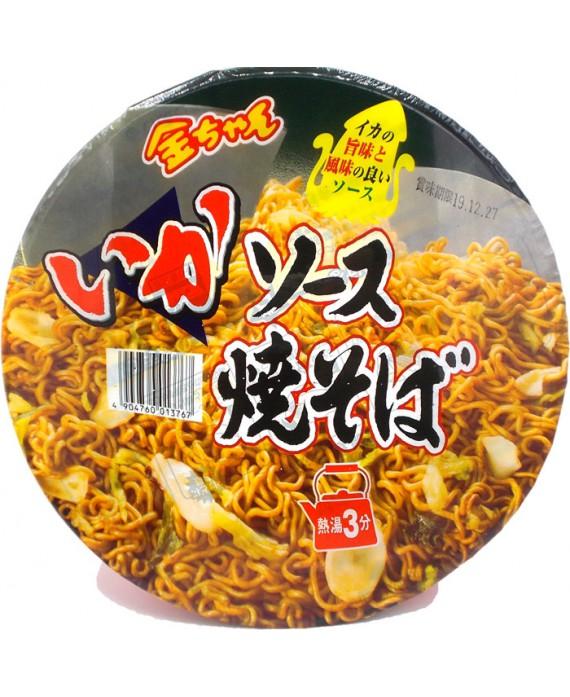 Instant yakisoba- Ika sauce...
