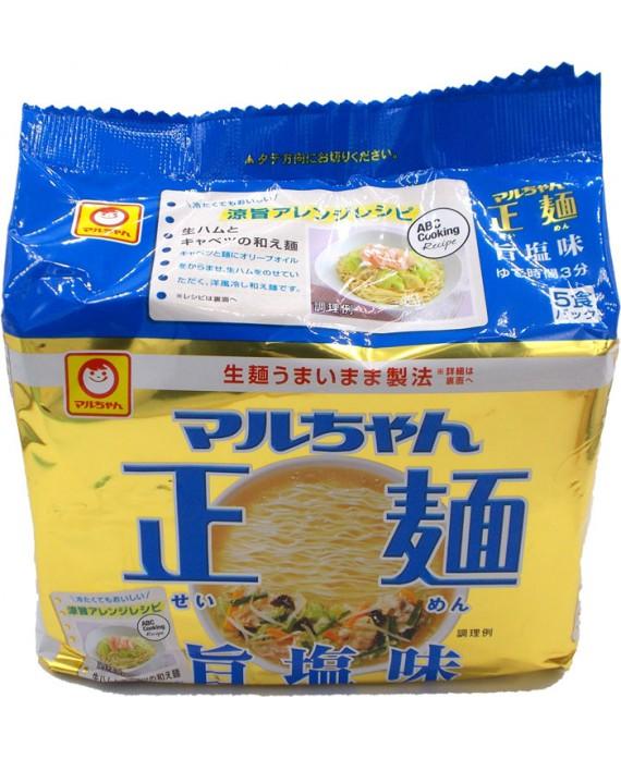 Instant ramen salty soup