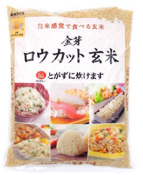 東洋ライス 金芽ロウカット玄米 (無洗米) - 2kg
