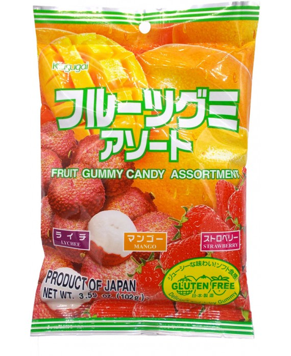 Fruits mix gummy (lychee,...