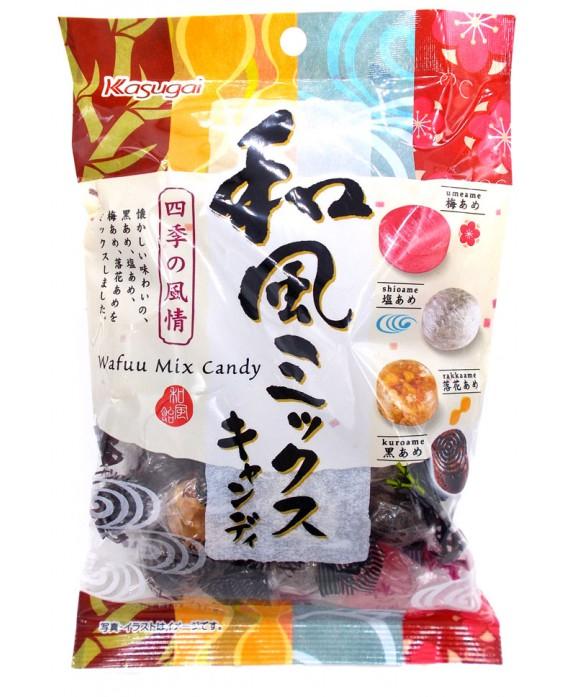 Bonbons goûts du Japon