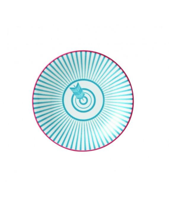 半型50 皿 - 矢羽
