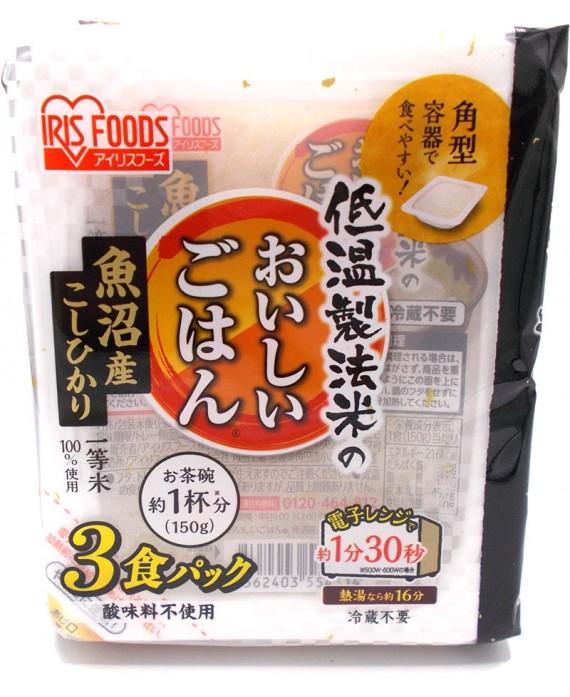 Pack de riz japonais instantané
