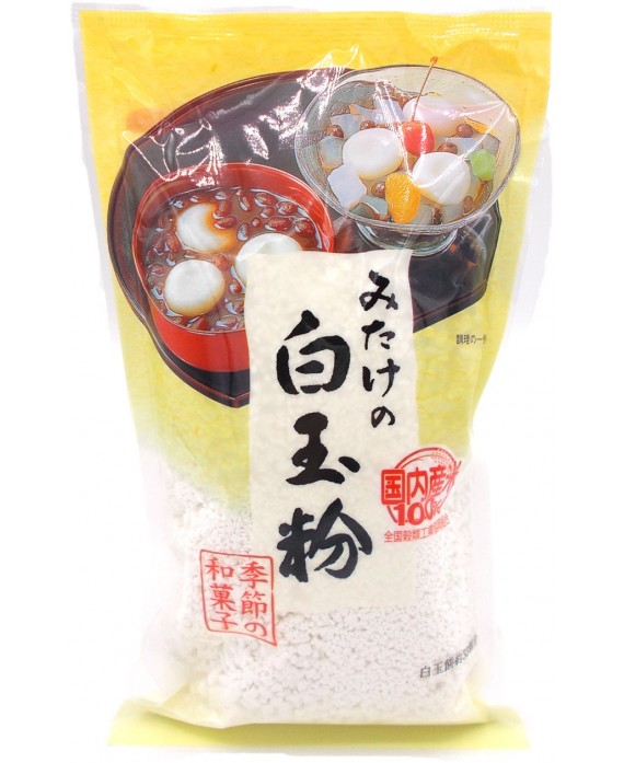 Glutinous rice flour...