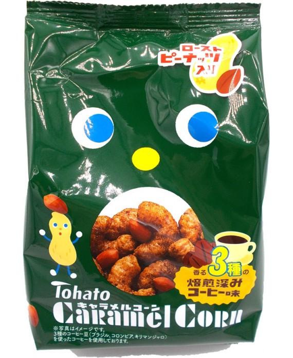 東ハト キャラメルコーン 香る3種の焙煎深みコーヒー味...