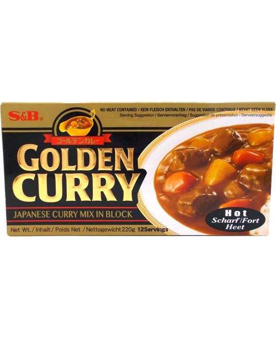 Golden curry épicé