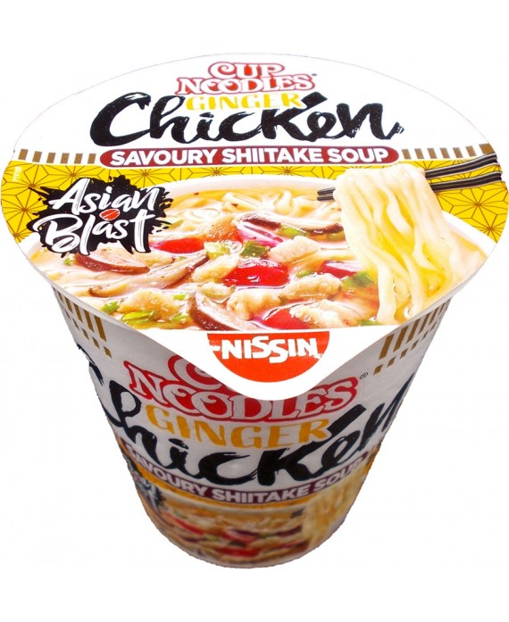 Cup noodles with chicken