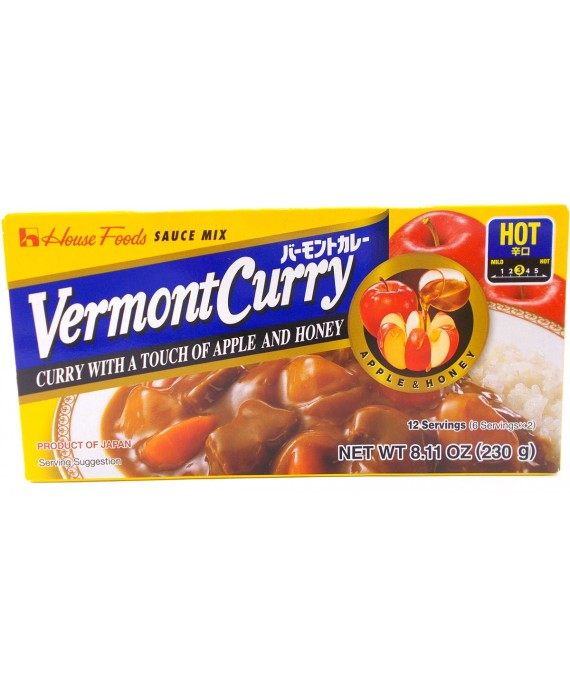 Curry Vermont épicé
