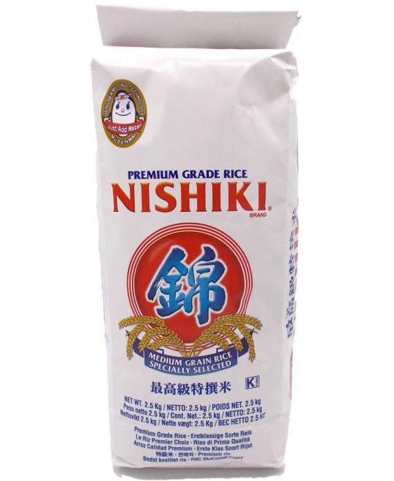 Nishiki white rice - 2.5kg