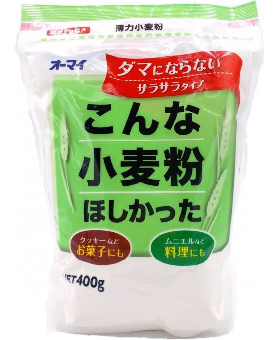 日本製粉 オーマイ 薄力小麦粉こんな小麦粉ほしかった...