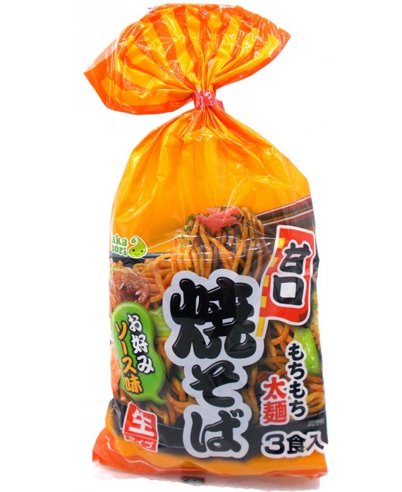 タカモリ 甘口焼そば (お好みソース味) 3食入