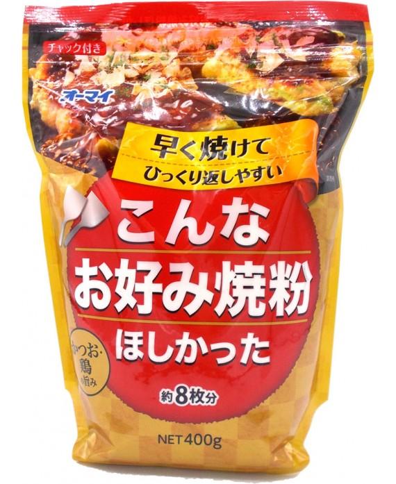 日本製粉 オーマイ こんなお好み焼粉ほしかった - 400g