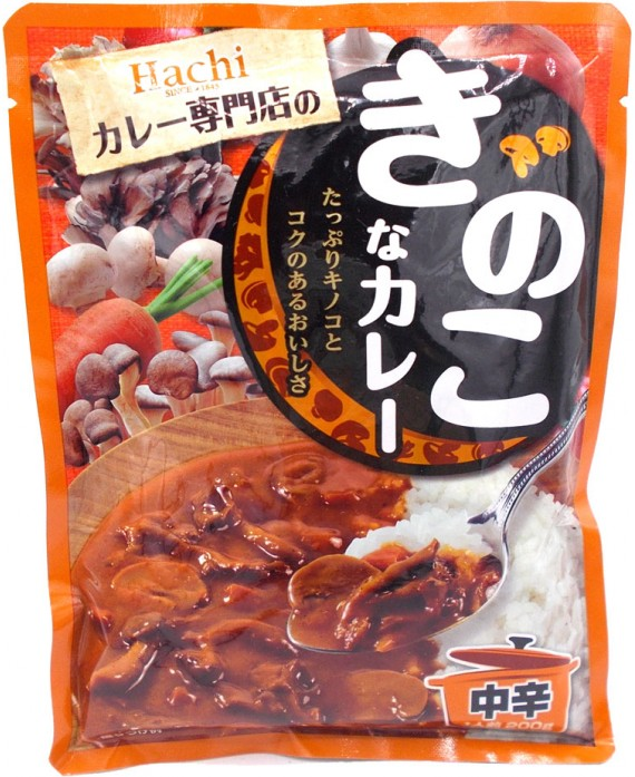 Instant mushroom curry -...