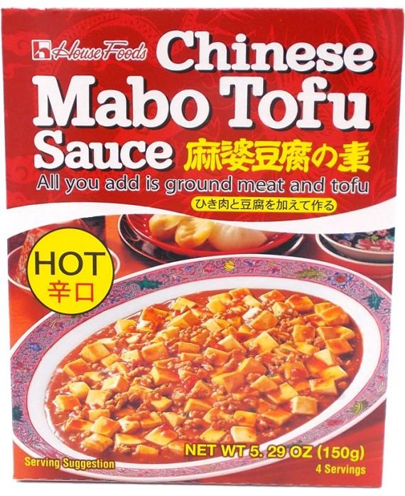 ハウス マーボー豆腐の素 辛口 - 150g