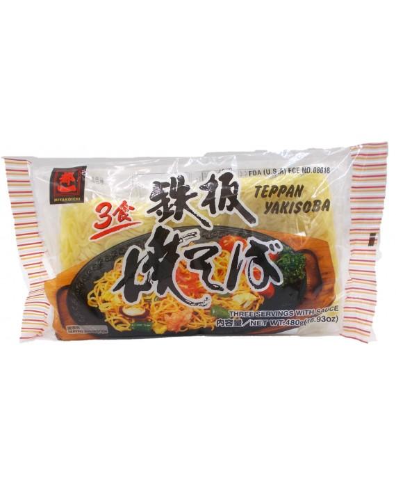 Nouilles japonaises yakisoba avec sauce - 3 repas