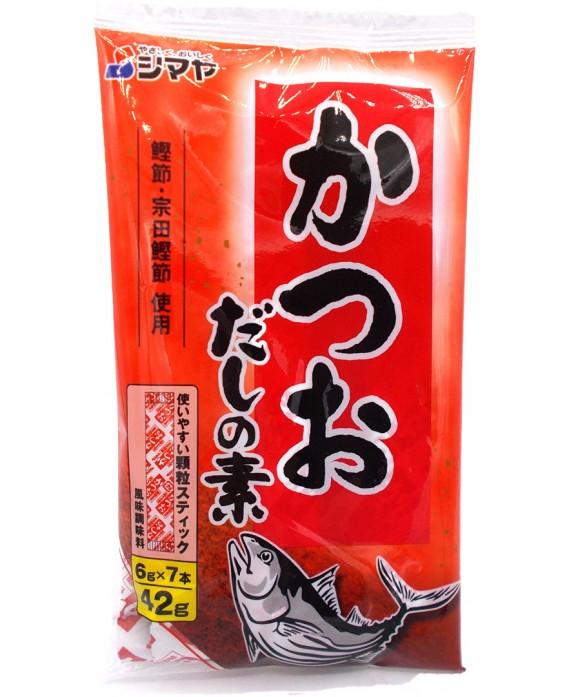 シマヤ かつおだしの素 - 42g (7P)
