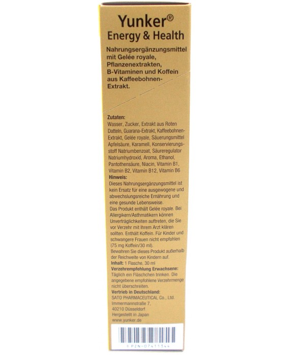 Energy drink Yunker