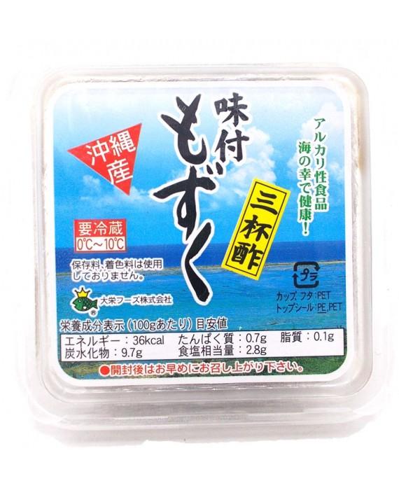 Frozen mozuku seaweeds