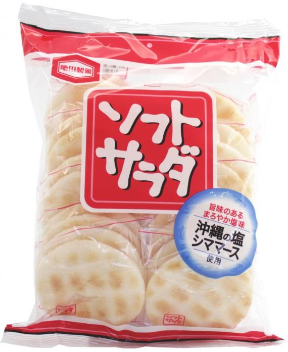 Biscuits de riz grillés au sel d'Okinawa