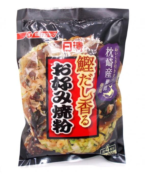Okonomiyaki pancakes flour...