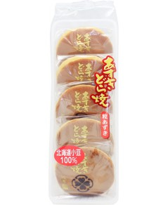 Dorayaki pancakes fourrés aux haricots rouges
