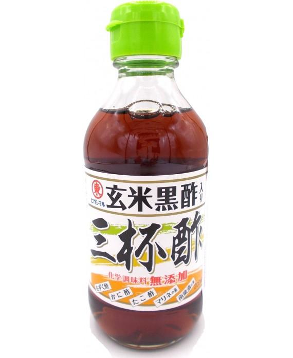 ヒガシマル 玄米黒酢入り 三杯酢 - 200ml