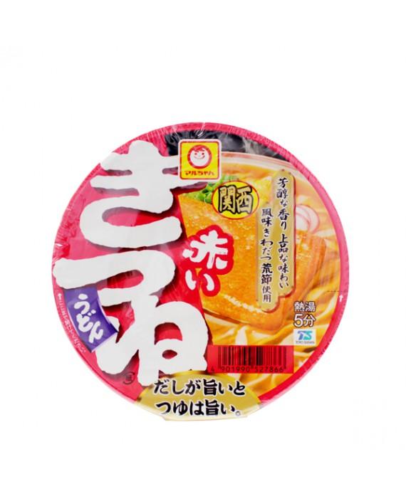 Soupe de nouilles udon instantannées au tofu frit