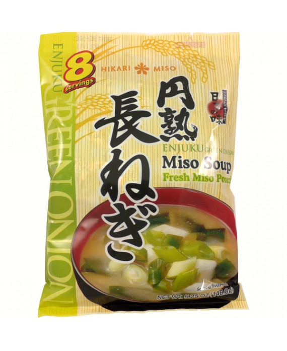 Soupe instantanée de miso aux poireaux - 8 repas