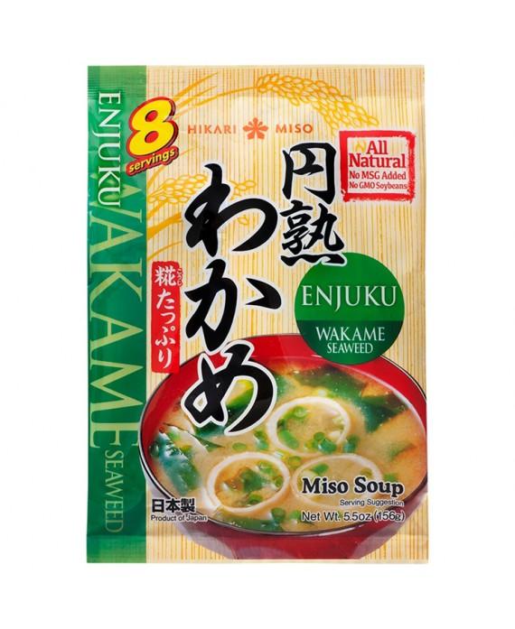 Soupe instantanée de miso aux algues wakame