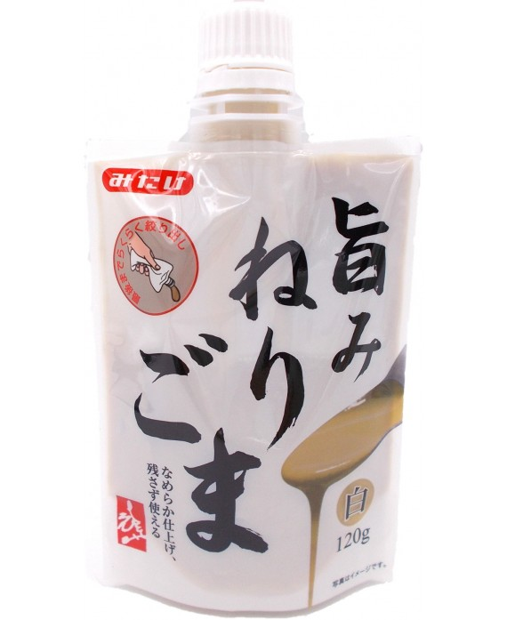 White sesame seeds paste