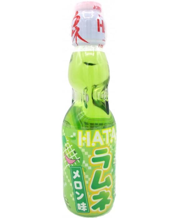 ハタ鉱泉 瓶ラムネ メロン味 - 200ml