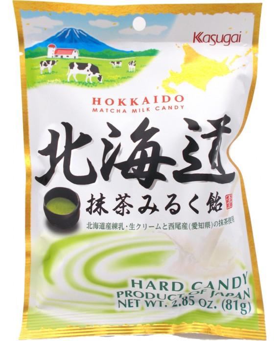 Hokkaido milk & matcha candies