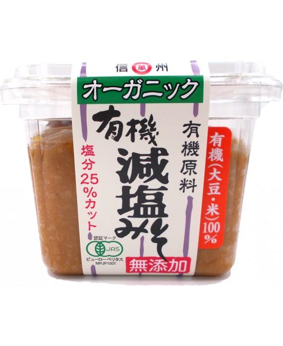 Reduced salt organic miso...
