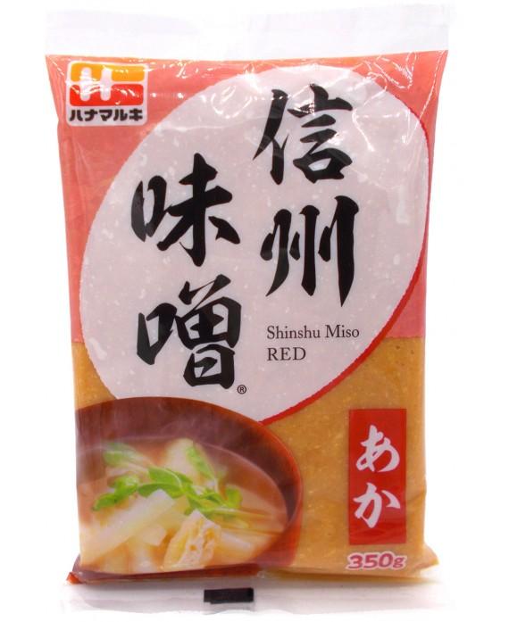 ハナマルキ 信州味噌 赤 - 350g
