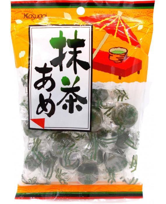 Green tea matcha candies