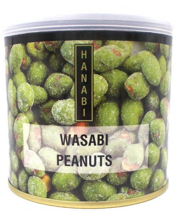 Grilled peanuts with wasabi