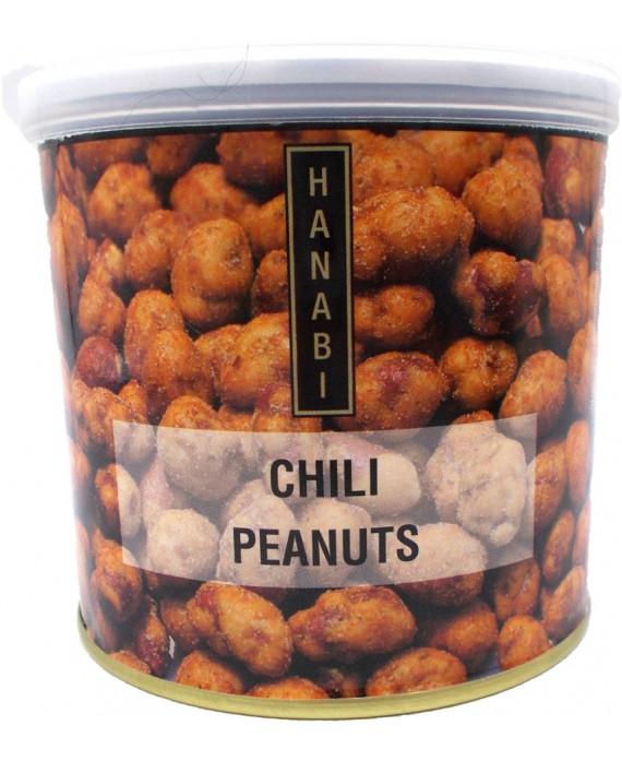 Cacahuètes grillées pimentées