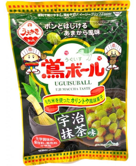 植垣米菓 鴬ボール宇治抹茶味 - 71g