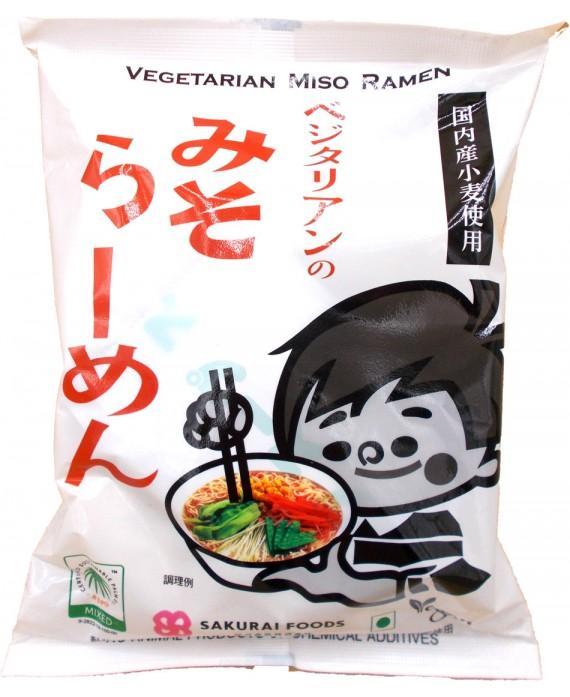 Nouilles ramen végétarienne au miso