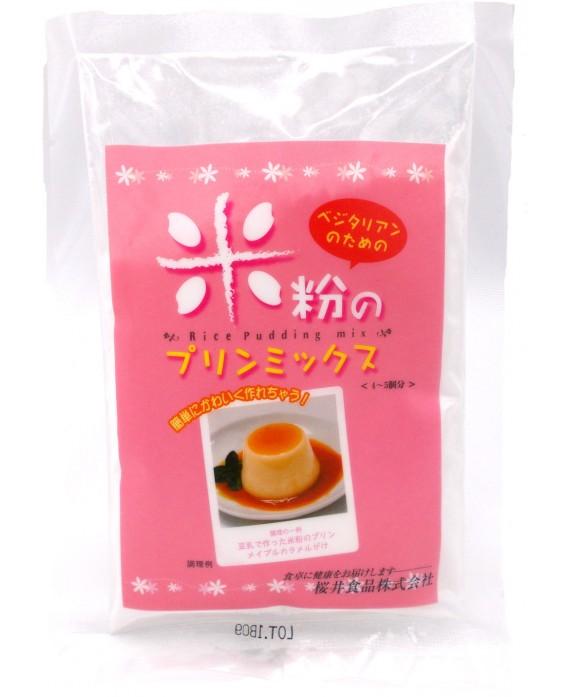 桜井食品 ベジタリアンのための米粉プリンミックス - 80g