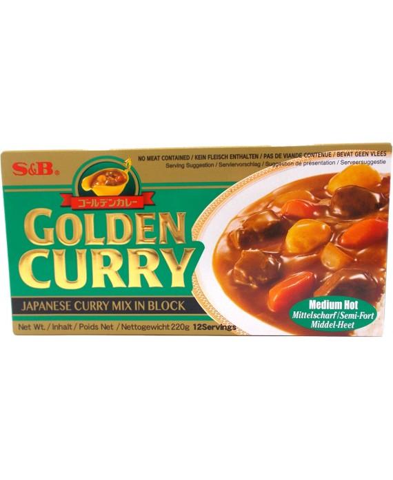 Golden curry moyen épicé